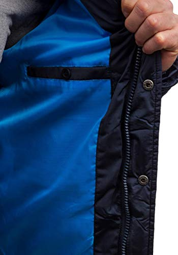 Blu Scuro Cappuccio Cerniera Uomo Extreme Bottoni 831 – Con Bolf Giacca IwaqztSv