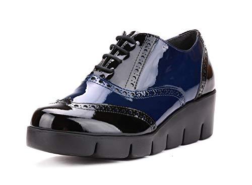 Plataforma Mujer Francés Negro Flexx Y New Tralls The Zapato De Azul nq7gYUWwC