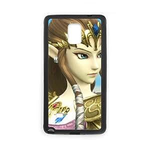 Samsung Galaxy Note 4 Cell Phone Case Black Super Smash Bros Princess Zelda SUX_153979