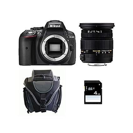 Nikon D5300 + SIGMA 17-50 DC OS HSM + SD 4Gb: Amazon.es: Electrónica