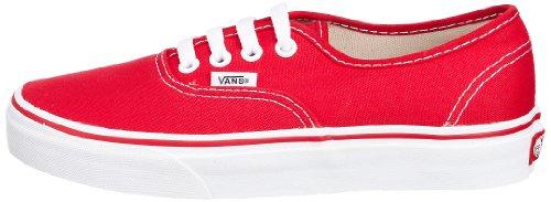 Vans Unisex Authentic Skateschuh rot