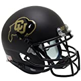 Colorado Buffaloes Black Gold Officially Licensed Full Size XP Replica Football Helmet