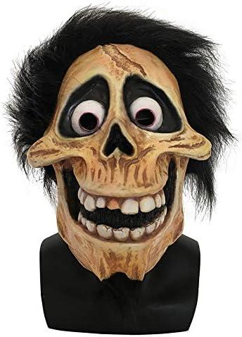Cráneo Divertido Héctor Rivera Cosplay Máscara Película Coco Migul Abuelo Latex Party Máscaras Disfraces Props para Adultos