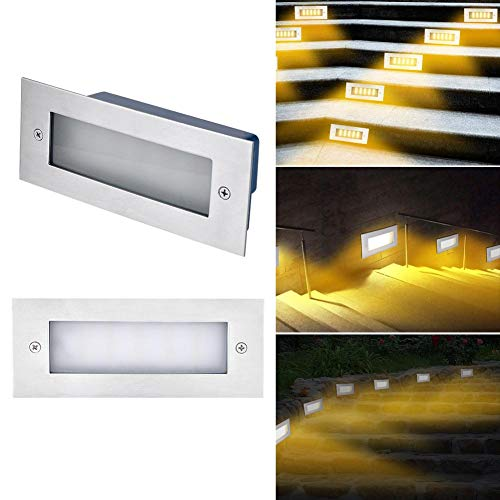 Feileng LED Brick Lights IP65 Waterproof Recessed Stainless Steel Outdoor Wall Lights Energy Saving opportune
