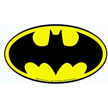 Licenses products dc comics batman joker logo for Amazon gelbsticker
