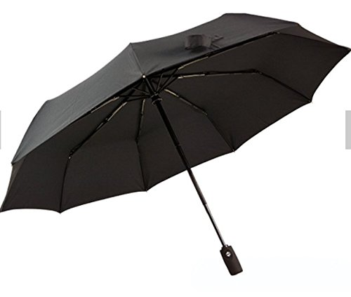 E-Zshop4u Windproof Travel Umbrella with Teflon Coating 10 Rib Wind Resistant Frame by E-Zshop4u