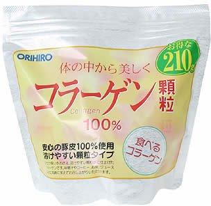 ORIHIRO Collagen 100% Granule 210g