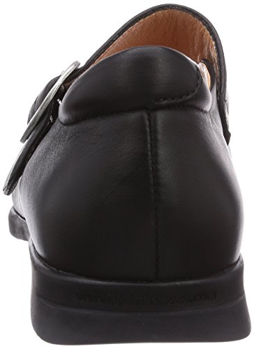 Black Stengt Pensa schwarz Women's Pensa Kvinners Closed Ballerinas Ballerinas 00 schwarz Sort At Synes Think 00 vPwqRYv1