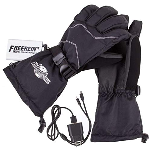 Flambeau Outdoor F200 Heated Gloves With Synthetic Palm, Medium
