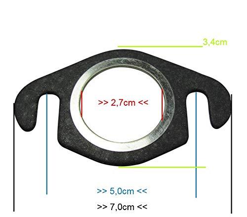 Variabel Universal f/ür 50ccm Roller 5x Auspuffdichtung Kr/ümmerdichtung