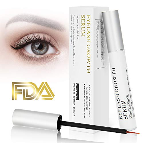 02fba5f38f3 Eyelash Growth Serum Eyebrow Enhancer Serum Professional Eyelash Booster  for Naturally Longer, Fuller & Thicker