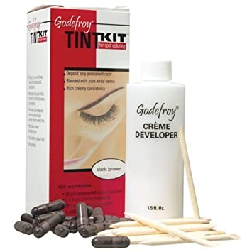 Amazon.com : THE Best Godefroy Eyebrow Tint Kit Professional 20 ...