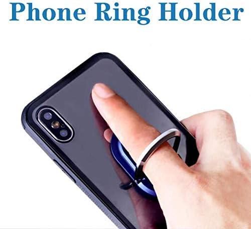 Feeke Phone Bracket 2-in-1 Car Air Vent Finger Ring Bracket Phone Mount Holder 2 Pack