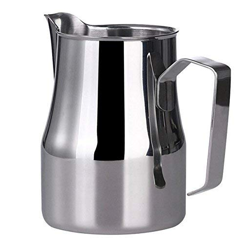 Fangfang Stainless Steel Milk Frothing Pitcher Coffee Espresso Milk Frothing Latte Maker Coffee Jug Mug (20 oz/550 ml) by Fangfang
