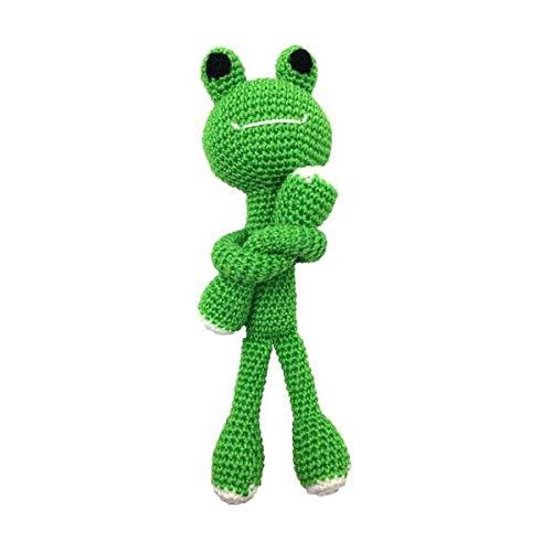 Darn Good Yarn Craft Amigurumi Knit and Crochet Kit | DIY Knitting Kit - Stuffed Frog Fun Crochet Kit | DIY Crochet Kit Includes Crochet Yarn, Hook, and Needles | 3 Piece Set ()