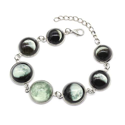 Baynne Fashionable Women Luminous Lunar Eclipse Design Bracelet Fine Jewelry Gift