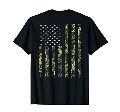 Camo American Flag T shirt