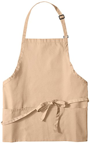 chef apron khaki - 5