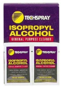 Tech Spray Wipes Isopropyl Alcohol 99% Pure 50/Pack by Tech Spray