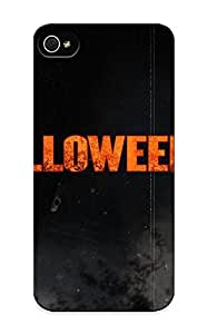 QueenVictory Brand New Defender Case For Iphone 5/5s (halloween Jack O Lantern) / Christmas's Gift