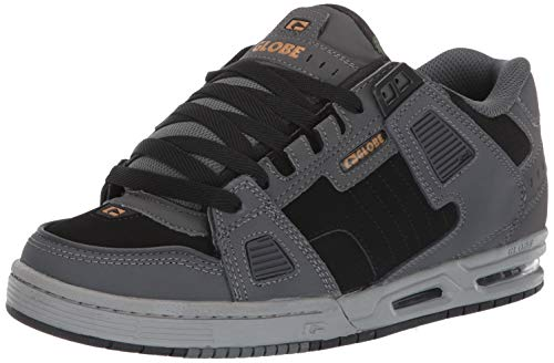 - Globe Men's Sabre Skate Shoe Charcoal/Black/camo 7 M US