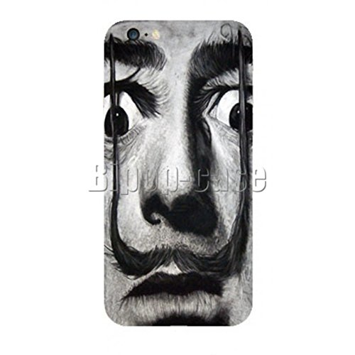 COQUE PROTECTION TELEPHONE IPHONE 6 - MOUSTACHE DALI