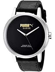 PUMA Unisex PU104101001 Suede limited edition Analog Display Watch