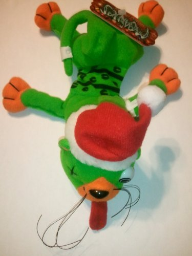 Meanies SPLAT IN THE HAT SHOCKING STUFFERS SERIES * 1998 Bean Bag Plush Toy From The Idea Factory