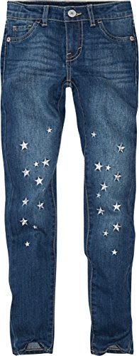 Levi's Little Girls' 710 Super Skinny Fit Embellished Jeans, Rockabilly, 6X