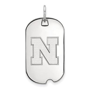 LogoArt Nascar Womens Stainless Key Pendant
