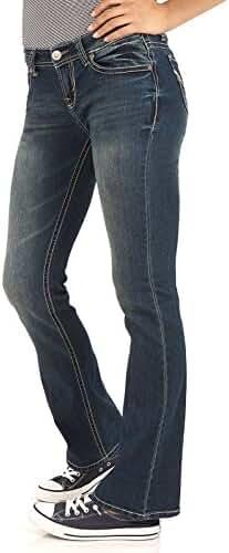 WallFlower Juniors Basic Legendary Stretch Bootcut Denim Jeans