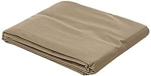 Bramblecrest Fc01Qsk Four Seater Cube Set Cover, Khaki, 127 X 127 X 76 Cm