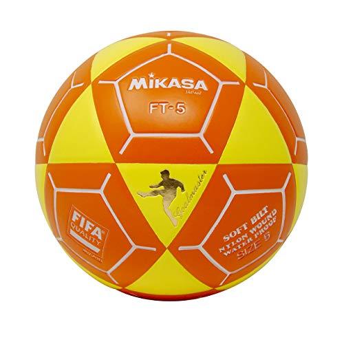 (Mikasa FT5 Goal Master Soccer Ball, Yellow/Orange, Size 5)