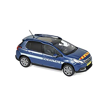 Norev Peugeot 2008 Gendarmerie 2016 1/43 Auto et Moto