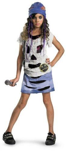 Grunge Spirit Child Costumes (Grunge Spirit Girls Halloween Costume Size M (78) by Disguise)