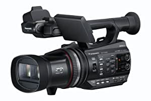 Panasonic HDC-Z10000 - Videocámara de mano, grabación de imágenes de calidad profesional en 2D y 3D, Full HD, color negro