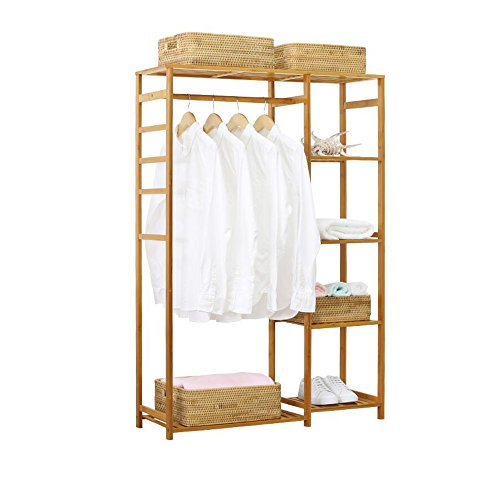 Amazon.com: DQMSB - Perchero para el suelo, dormitorio ...