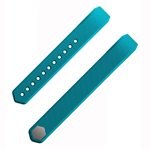 Etoper Silicone Accessories Replacement WristbandBandsSize Small Teal