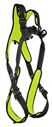 Guardian Fall Protection 11022 XL Cyclone HUV Harness with Pass-Thru Chest Buckle and Leg Tongue Buckles