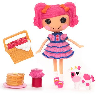 """Lalaloopsy 3 Inch Mini Figure with Accessories- Berry Jars """""""