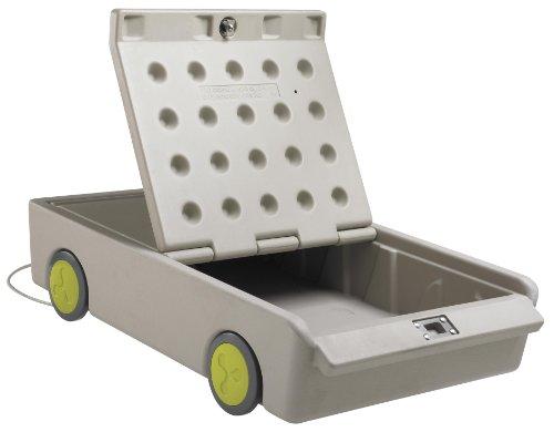 [해외]ECR4Kids 잠금 장치가있는 개인용 금고/ECR4Kids Lock and Roll Portable Under-Bed Personal Safe
