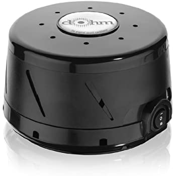 Marpac Dohm Classic White Noise Sound Machine, Black