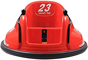 RollingBronze Kids Ride On Bumper Car, DIY Race Toy Electric Remote Control Vehicle Rechargeable 6V Battery-Powered, 360 Spinning Cars Children Gifts for Home Outdoor