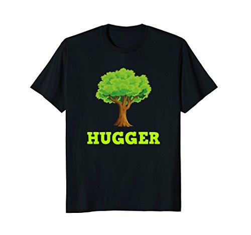 Hugger T-shirt Black (Mens Tree Hugger T-Shirt Large Black)