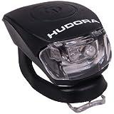 HUDORA LED Licht Shine, LED Lampe inkl. Batterien und 2 Funktion: Blink- und Dauerlicht