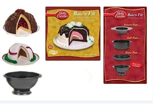 Betty Crocker Bake'n Fill 4 Piece Bake Set