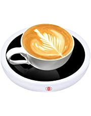 Coffee Mug Warmer FULOOPHI Smart Coffee Warmer for Desk with Auto Shut Off, 3 Temperature Setting Electric Cup Warmer for Coffee, Milk, Beverage, Tea