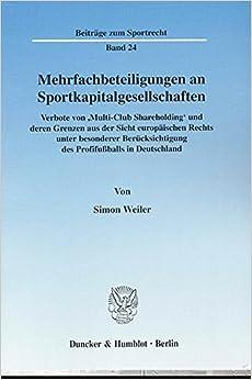 Mehrfachbeteiligungen an Sportkapitalgesellschaften