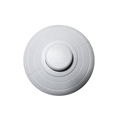Interruptor de pie 6A blanco GSC 1101096: Amazon.es: Bricolaje y herramientas
