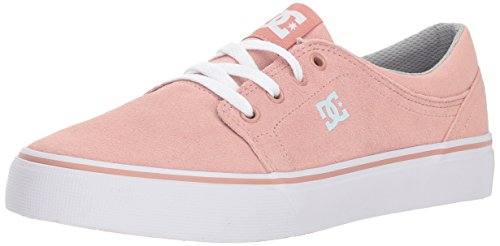 DC Girls' Trase Skate Shoe, Peach Parfait, 12 M US Little Kid